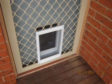 Large Dog Door For Screens Incl Postage Adelaide Pet