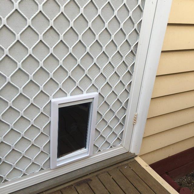 & Cat Door For Screens - Supplied u0026 Installed u2013 Adelaide Pet Doors