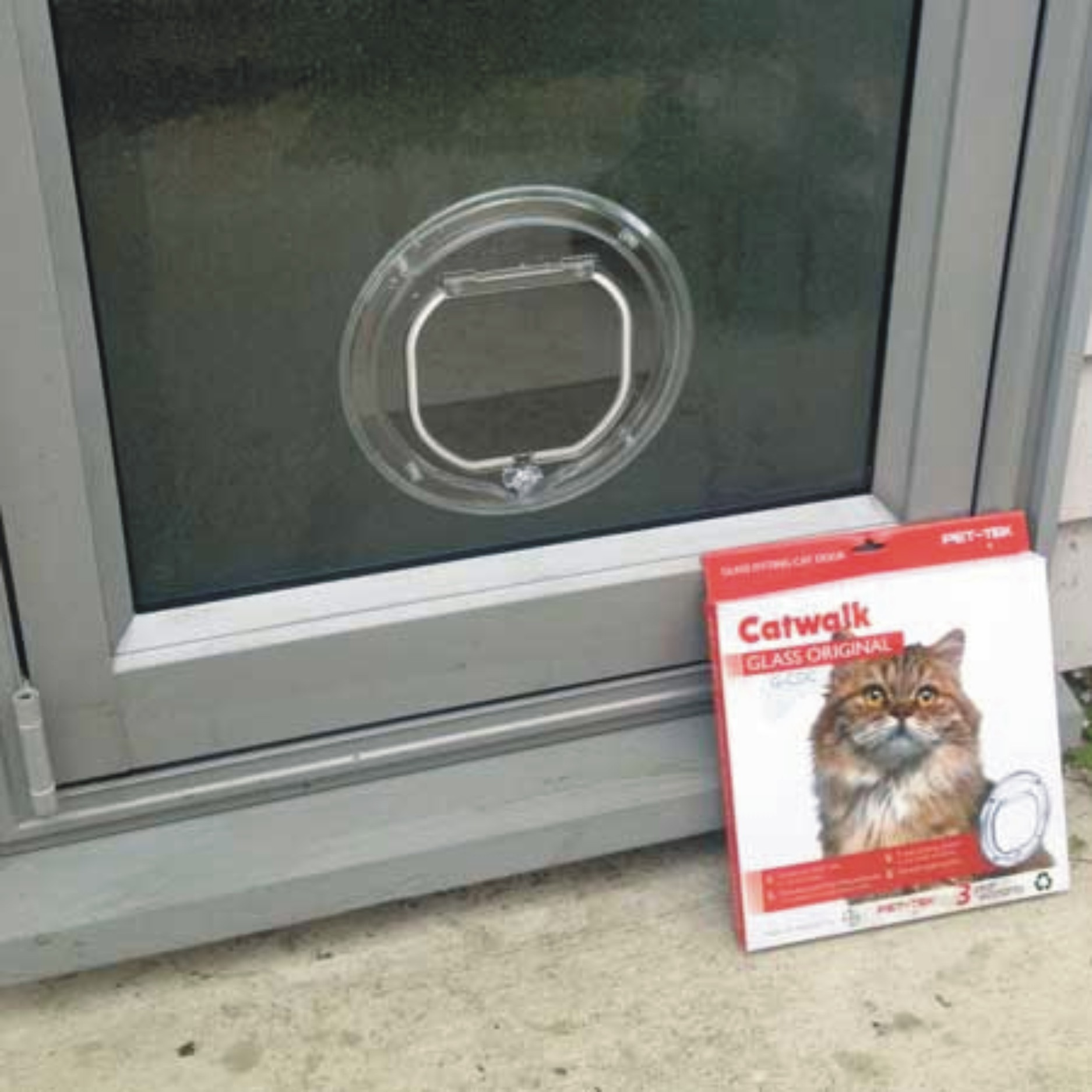 Small Cat Door For Glass Supplied Amp Installed Adelaide